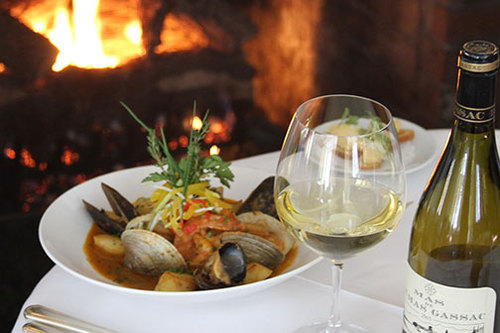 Bouillabaise by the fireplace.jpg