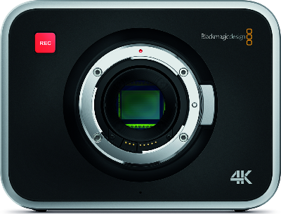 Nimmt in RAW auf und das mit satten 4K-Auflösung: Blackmagic Production Camera 4K