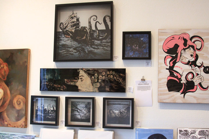 Some of my work from the  OCTOber  show