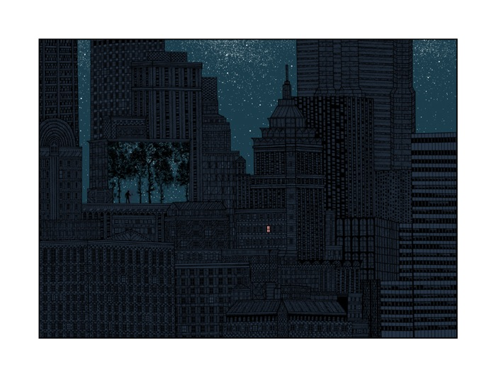 """In The Pines"" Art Print by Dan McCarthy"
