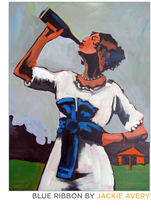 "Jackie Avery's ""Blue Ribbon"""