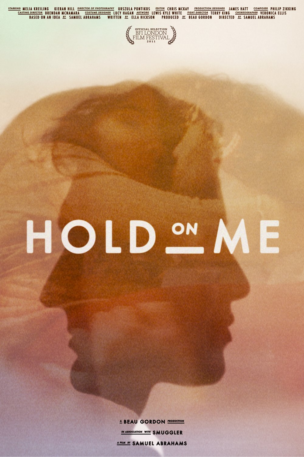 Buy 'HOLD ON ME' on iTunes  - Samuel's award winning short film starring Melia Kreiling.