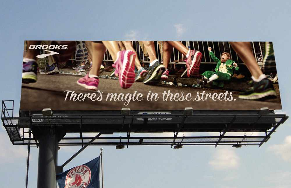 boston billboard brooks running