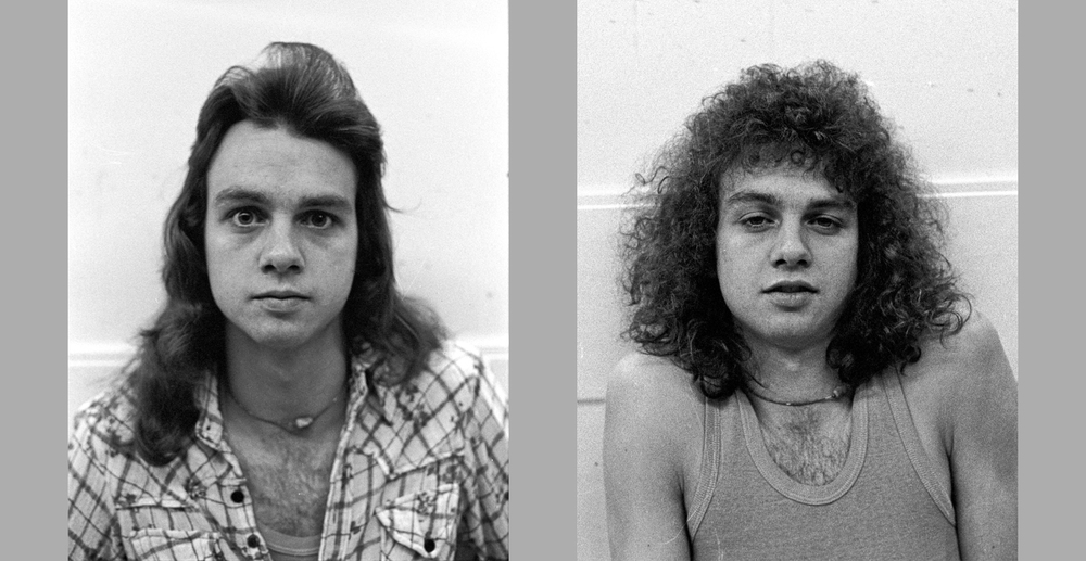 Steve Biller, Lorton, Virginia - May 1976   Before and After Haircut 2