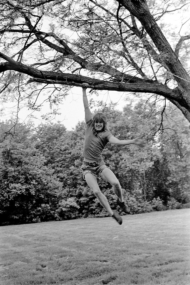 Robin Simmons, at a picnic in Annandale, Virginia - ca 1974
