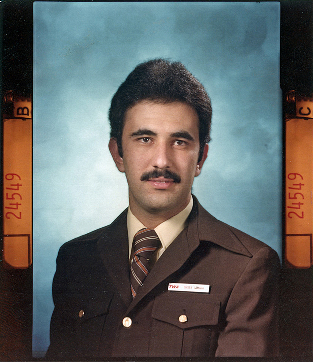 Lucien Samaha - TWA Graduation Photo - March 1978