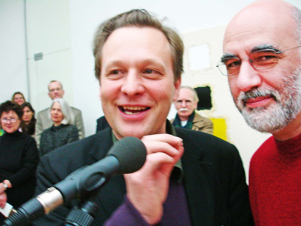 with Daniel Birnbaum
