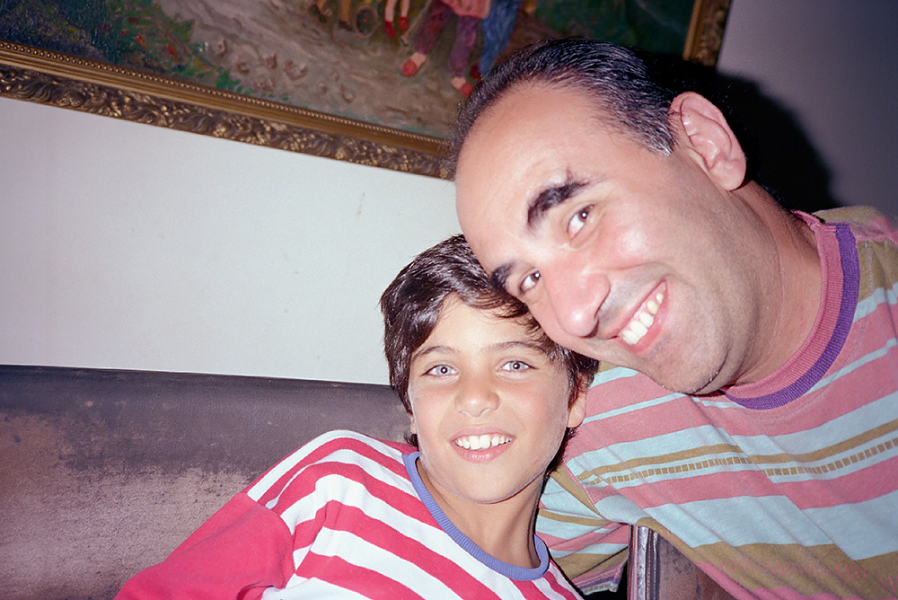 #20 - With my cousin Georges' son Karim, Jamil's brother.