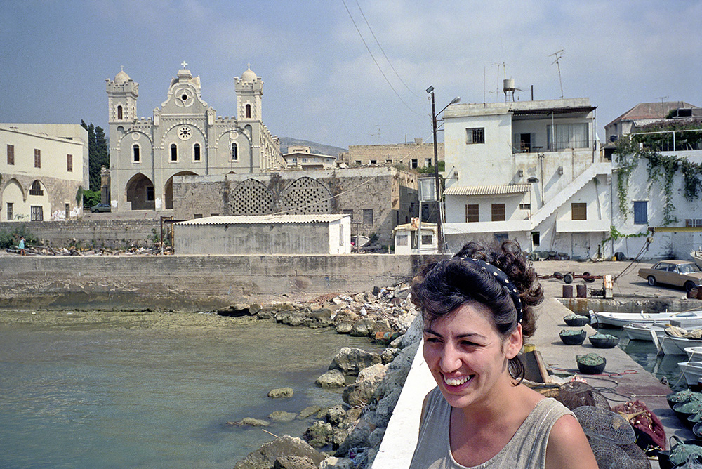# 12  - Marcelle in the port of Batroun