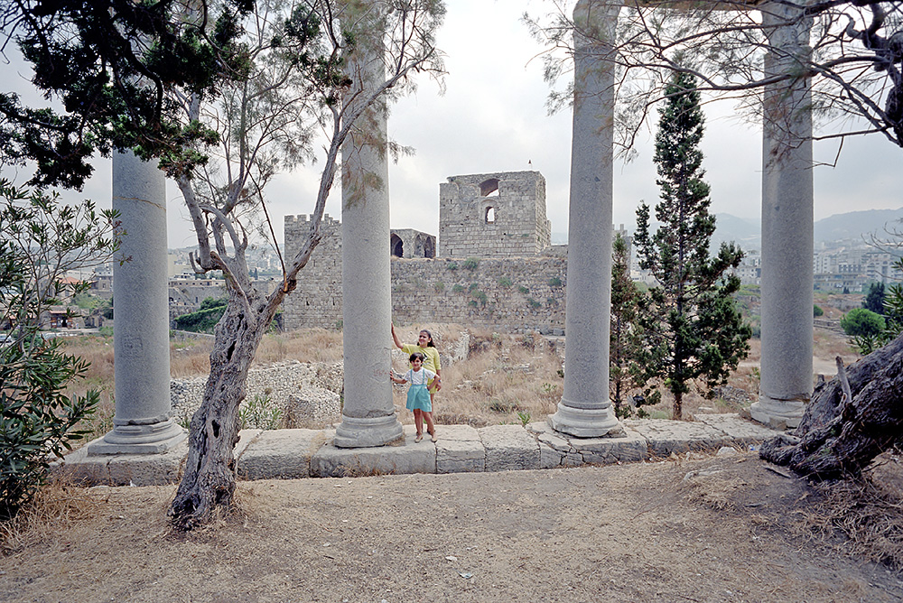 #10 - Rora's daughter among the ruins in Byblos.