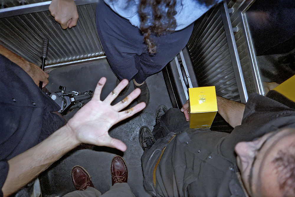 # 44  - in an elevator with Walid, Carole, and Jayce in Sin-el-Fil
