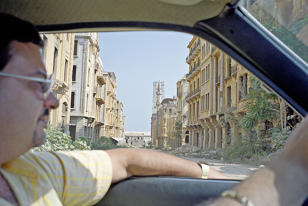 # 16  - With Antoine, Downtown Beirut