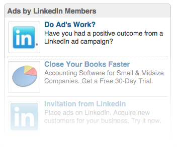 LinkedIn Advert