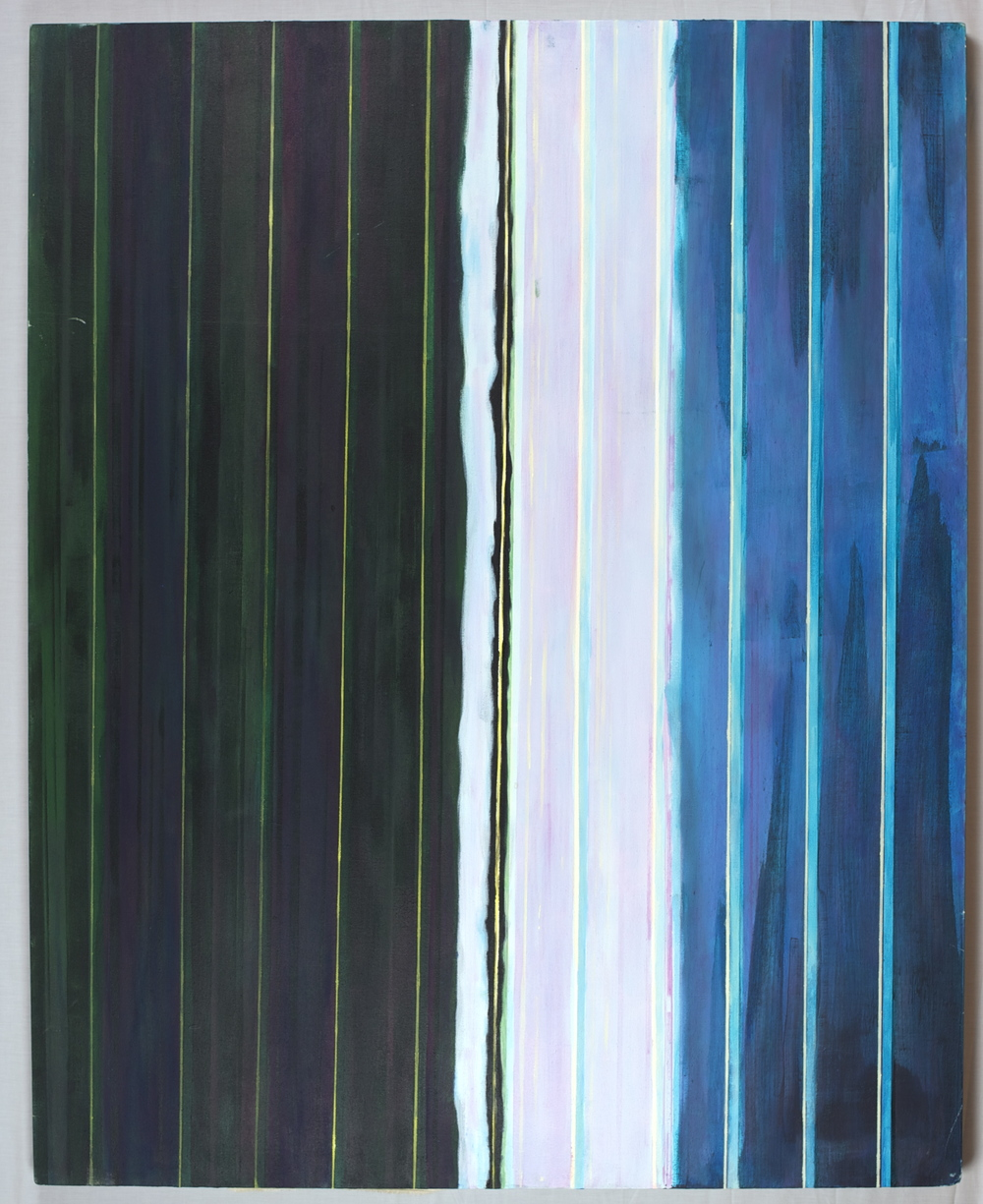 Untitled no6 (Zip) , 48x60, acrylic/oil on canvas, 2011