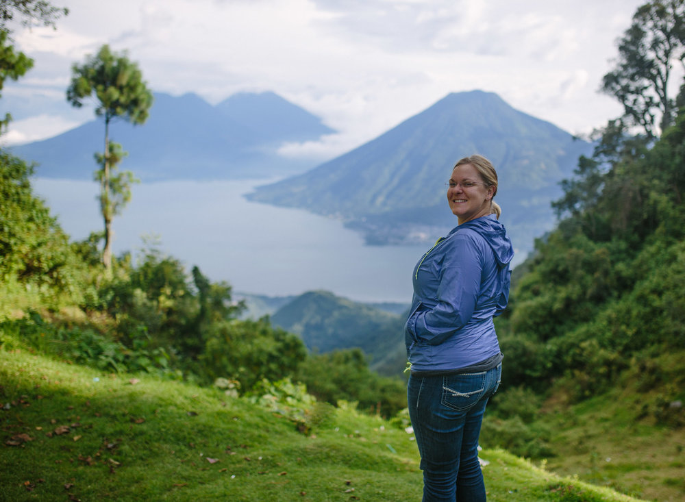 Lindsey and Lake Atitlan