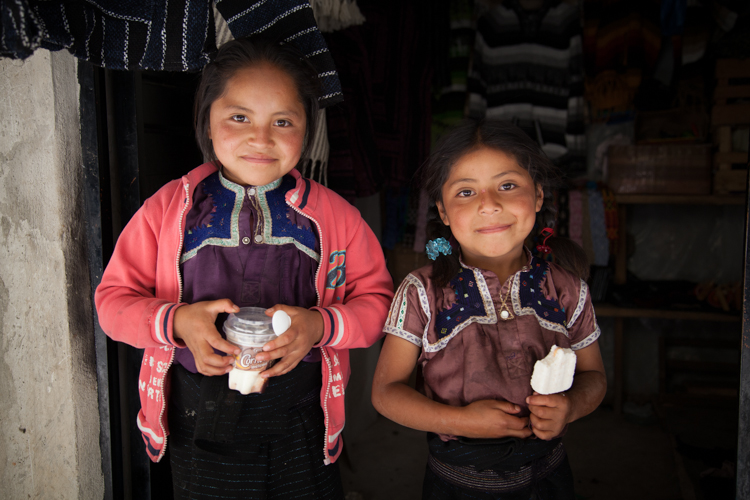 Girls of San Juan de Chamula