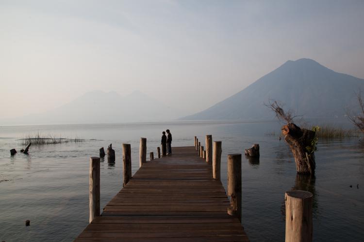 Pier at San Marcos, Lago Atitlan