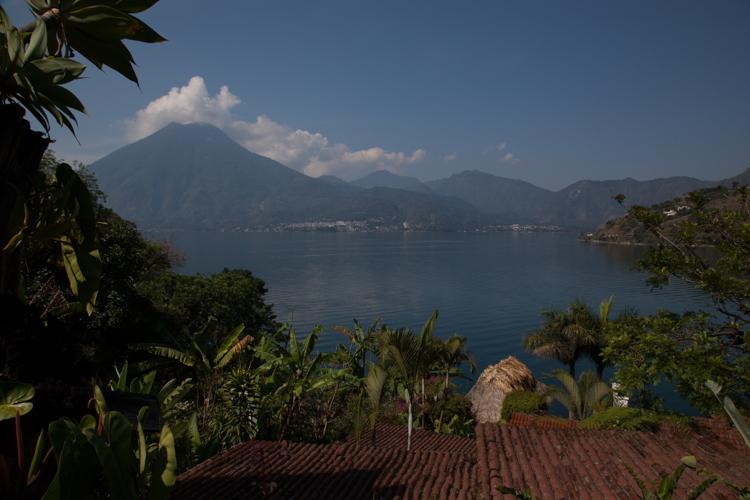 View of Lago Atitlan from Hotel Jinava