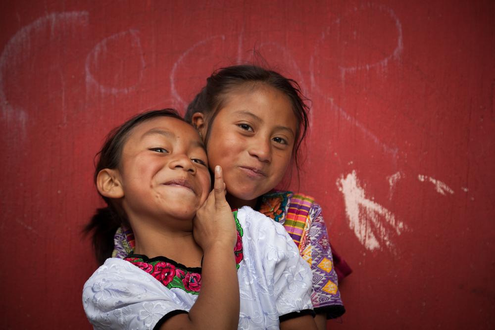 Guatemala - Ilcy and Heidi