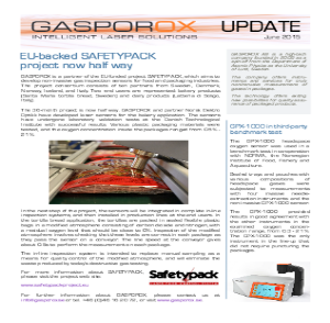EU-backed Safteypack now half wa  y      Read Our Newsletter