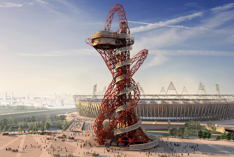 ArcelorMittal-Orbit within the Queen Elizabeth Olympic Park