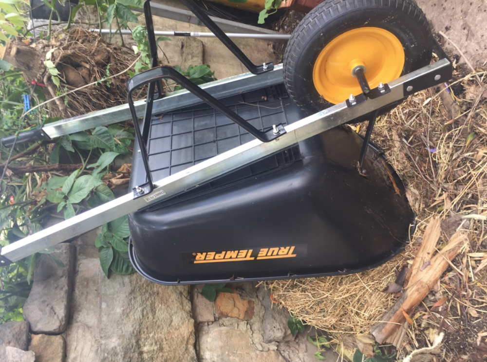 • New wheelbarrow for anyone to use
