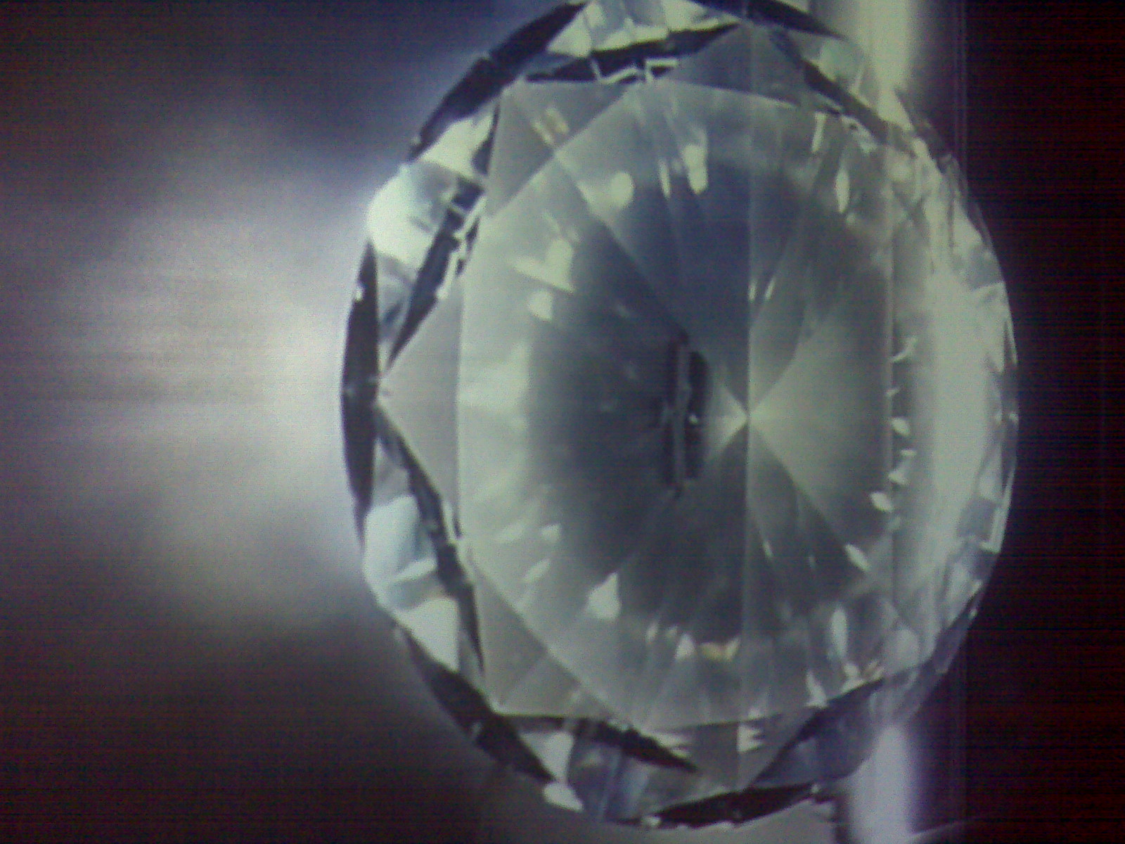 swarovski installation - crystals in the dark