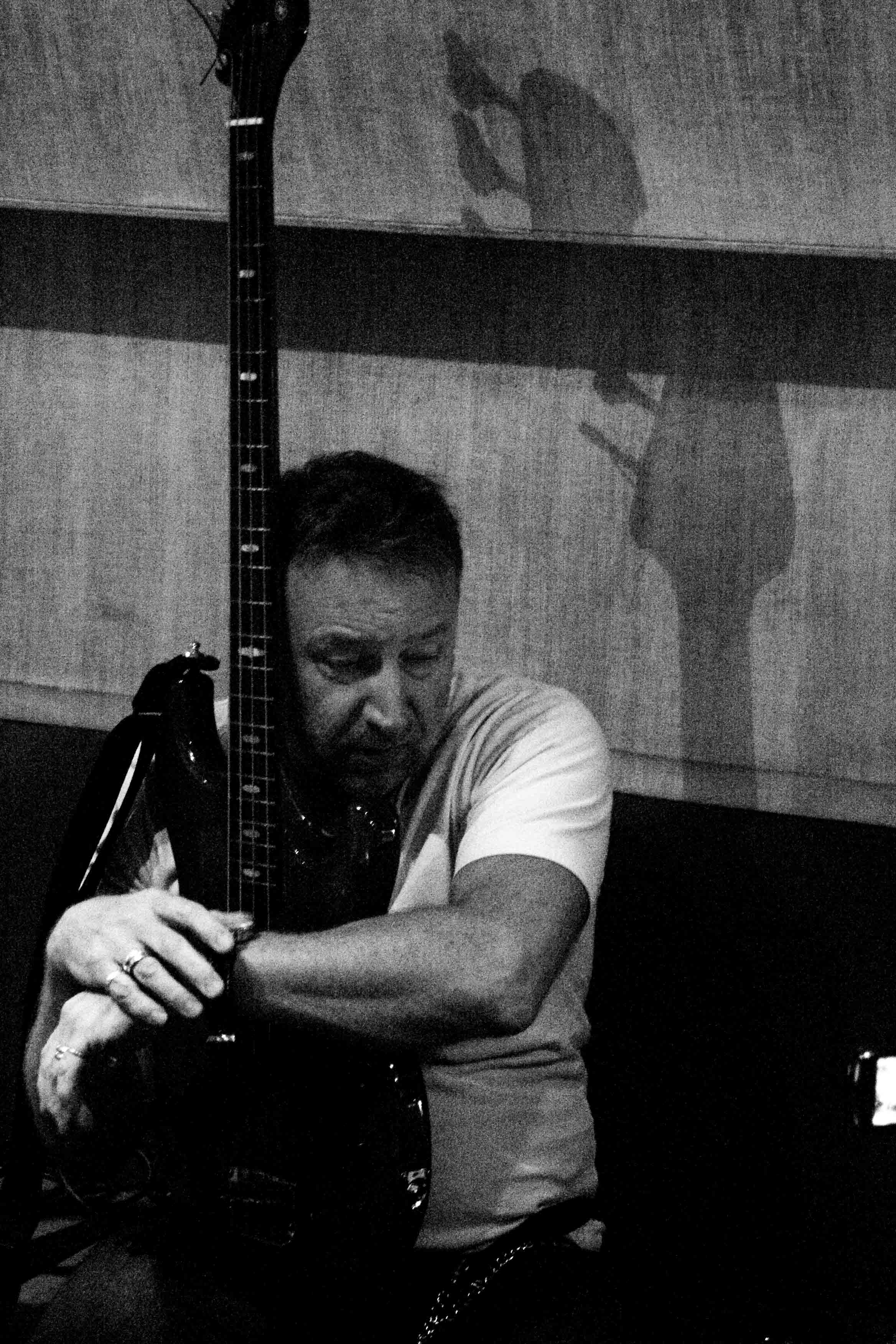 Peter Hook of Joy Division and New Order