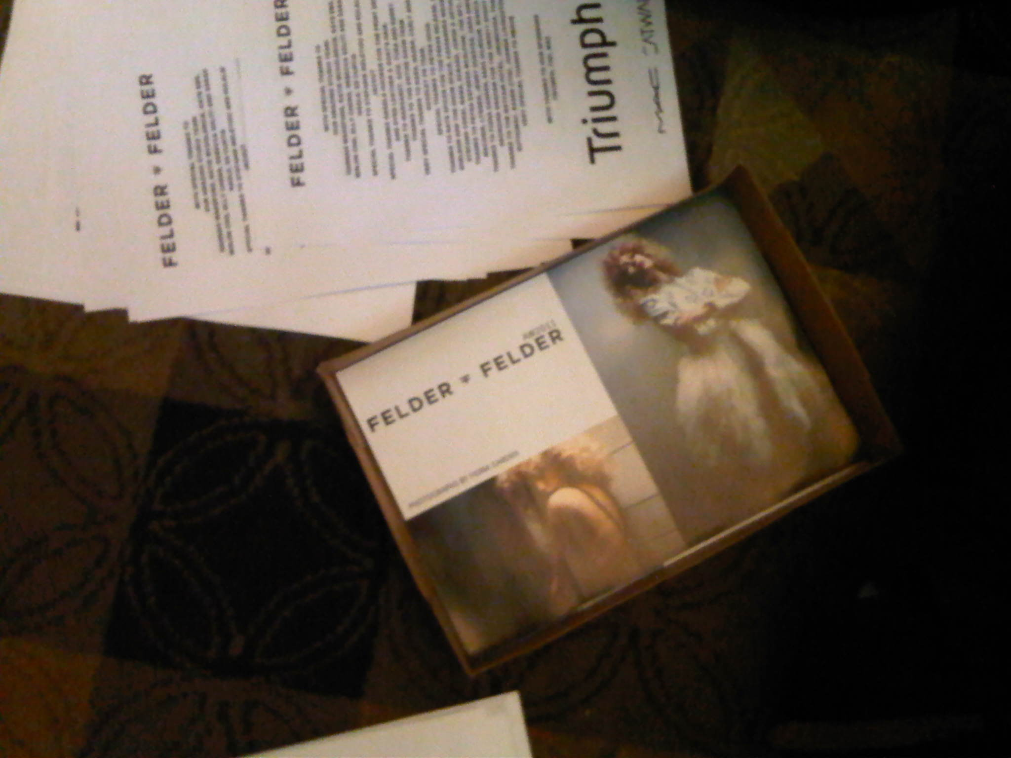 FELDERFELDER AW11 by Fiona Garden