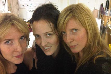 Annette and Dani Felder with Fiona Garden 2011 / Vogue blog