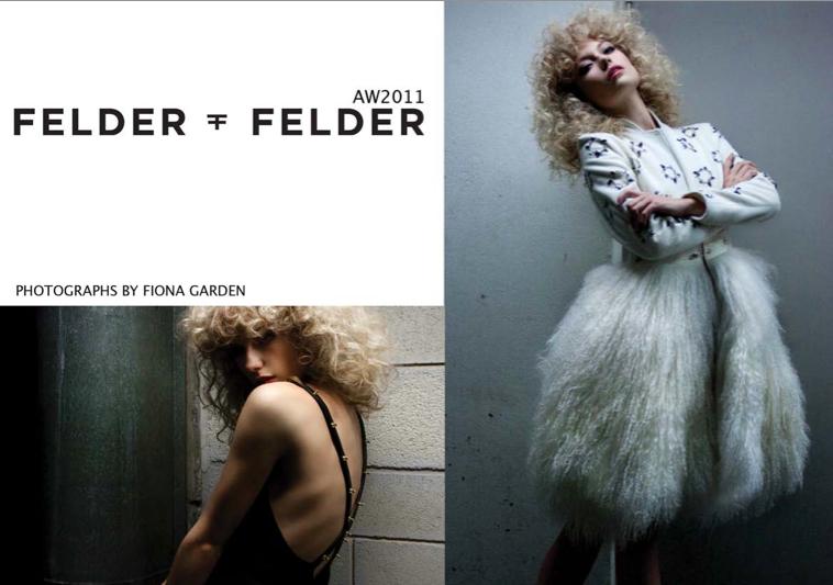 Felder Felder AW11/12 Campaign by Fiona Garden