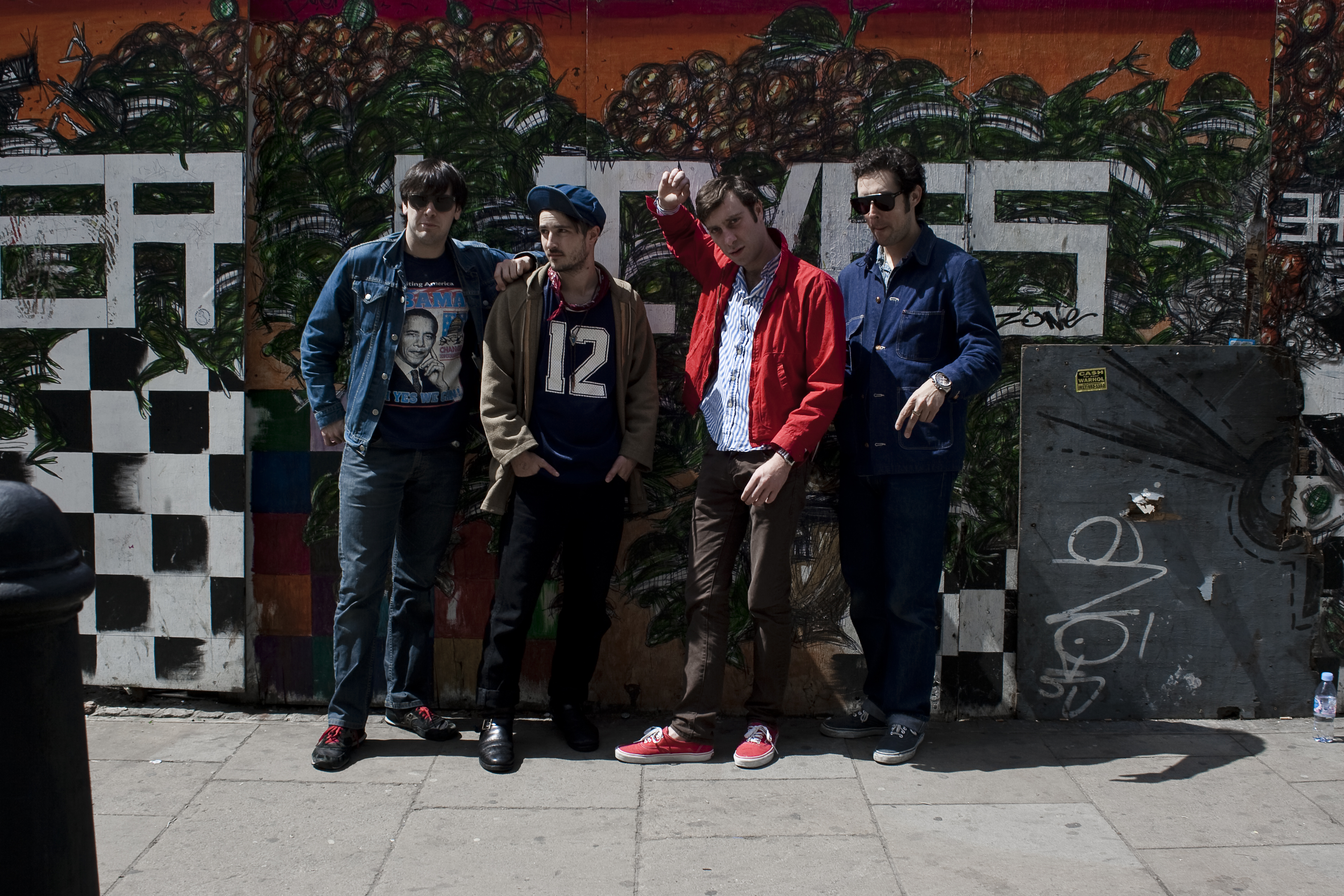 The Black Lips 2011, by Fiona Garden