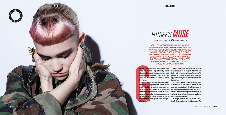 Grimes by Fiona Garden, 2012