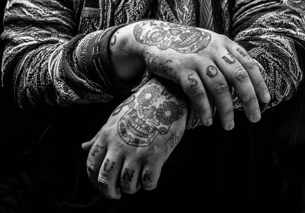 Rag'n'Bone Man // source image for Ben Ashton painting for 'Human'