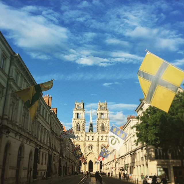 Orléans ! #orleans #cathedral #france