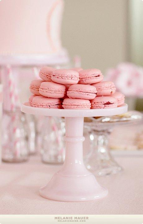 French Decorated Macarons