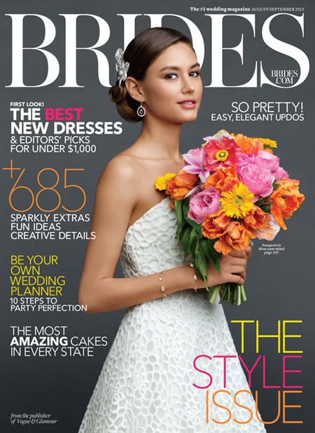 Brides magazine Aug./Sept. 2013