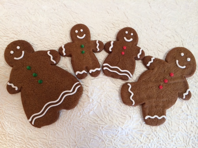 Gingerbread Family by Martine's Pastries