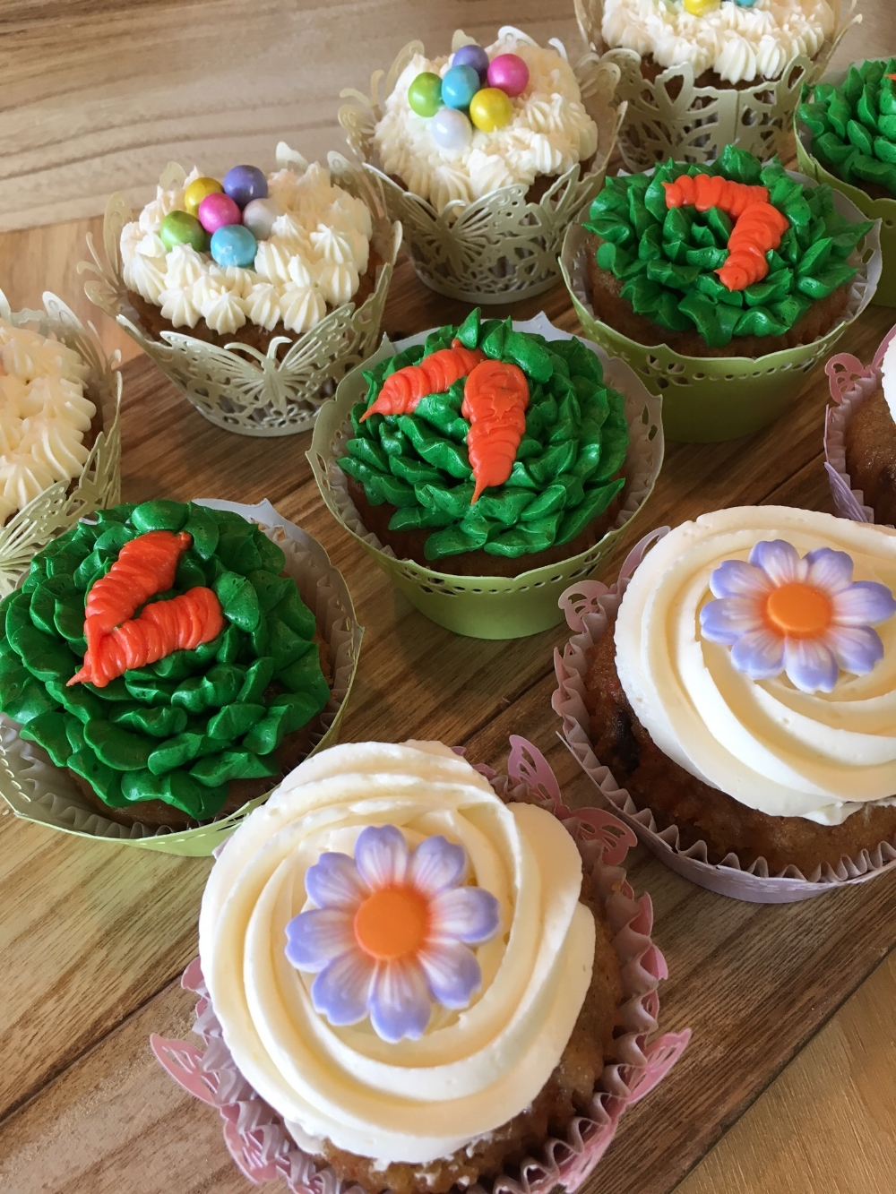 Martine's Easter Cupcakes