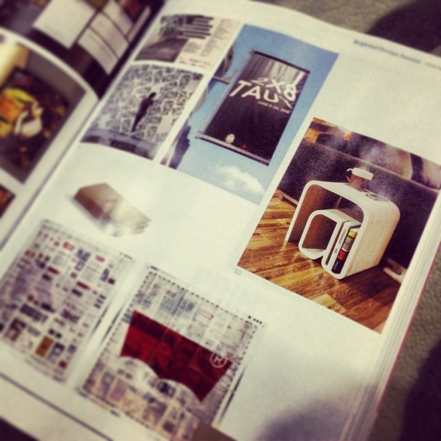 Featured in 2013 Print Regional Design Annual
