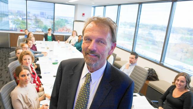 Dave Petersen, CEO of NAI Hiffman, a real estate brokerage in Oakbrook Terrace, was surprised when his company didn't make the top 100 in 2012. So he changed things. (James C. Svehla / Chicago Tribune)