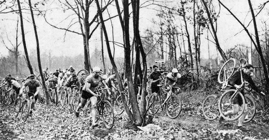 Cyclocross Race, 1930