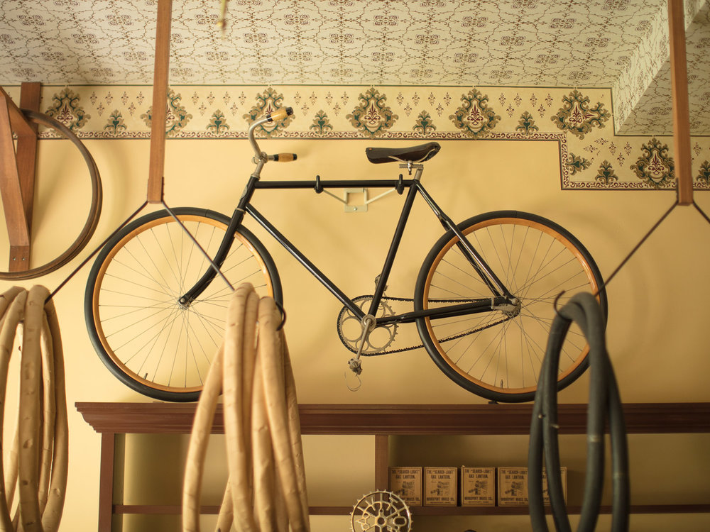 One of the last remaining original Wright Brothers' bicycles.