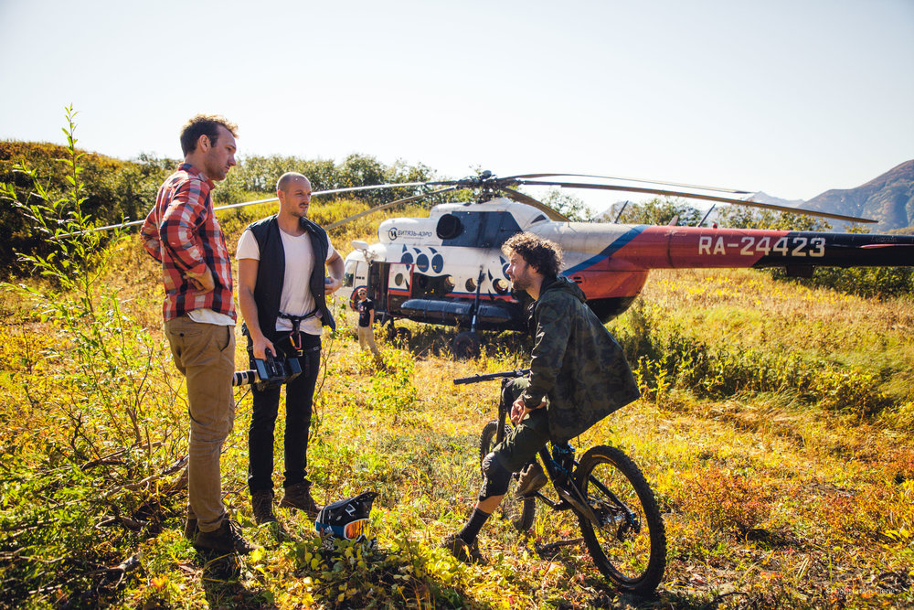 wild wild east - shooting in Siberia