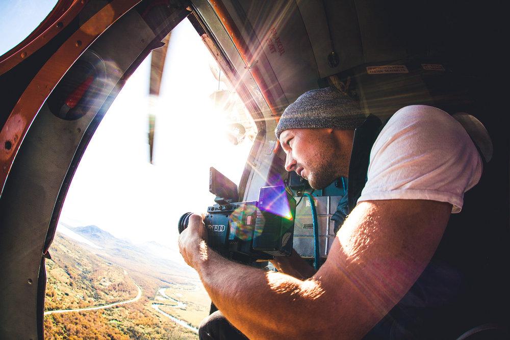 Director Johannes Müller - bei der Produktion von Outlaw Diaries III