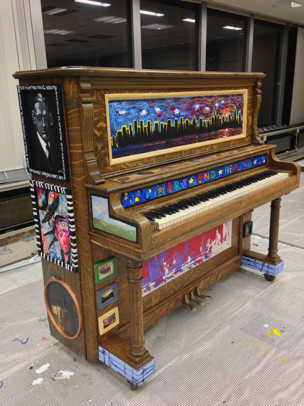 - The Foundation for Art and Healing's Sing for Hope Piano (New York, NY)