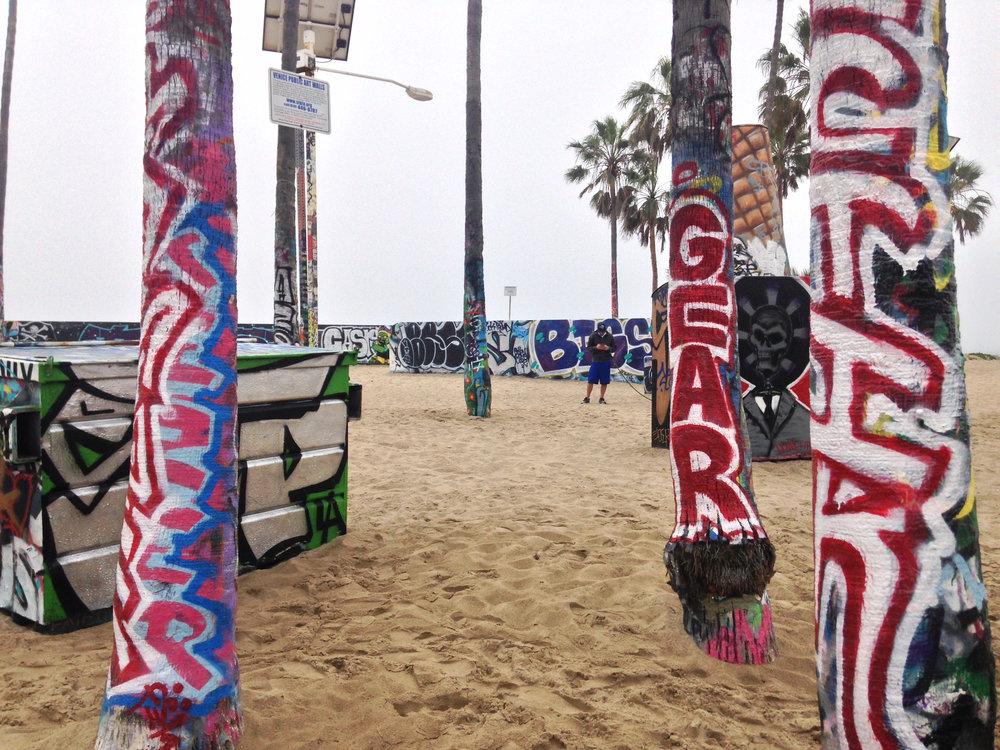 - Venice Beach Public Art Walls (Venice Beach, CA)