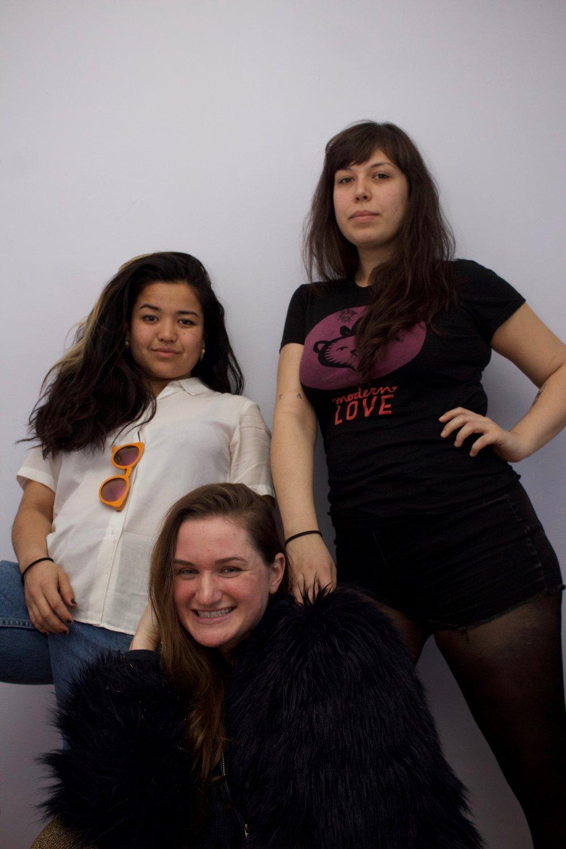 Carissa Matsushima, Ally Pekins and Kerin Bowen by Jay Jackson