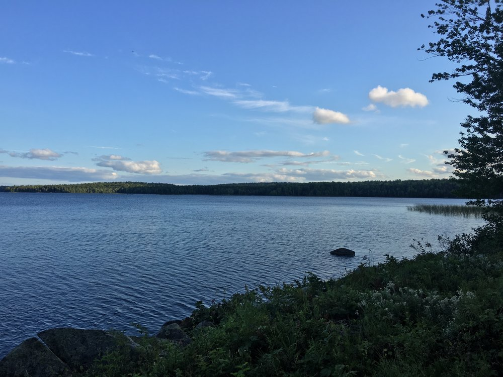 Mattawamkeag Lake by Free The Artists