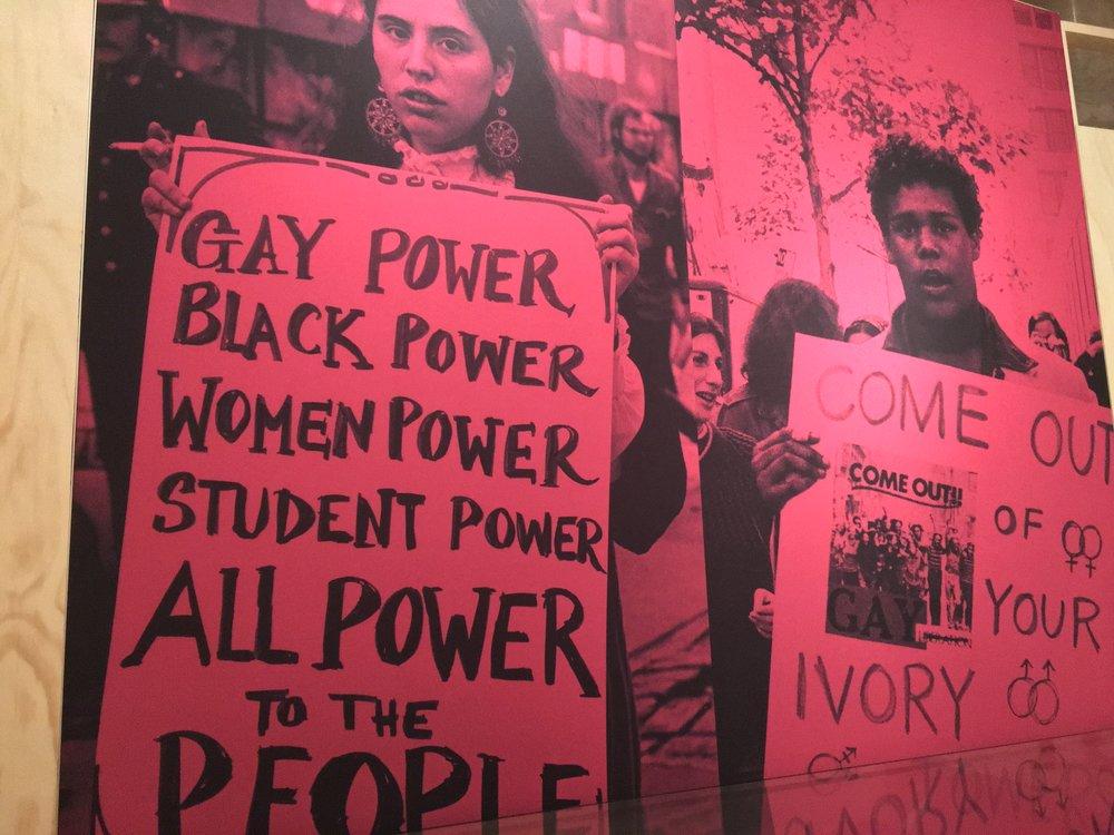 NYPL Peace, Love and Revolution Exhibit